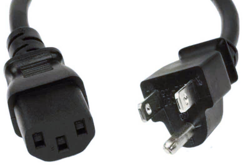 IEC Power Cord for Pedalboards - 110 to 250 Volt World Compatible 1