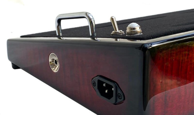 Wine Red Pedalboard - Icon Series 2