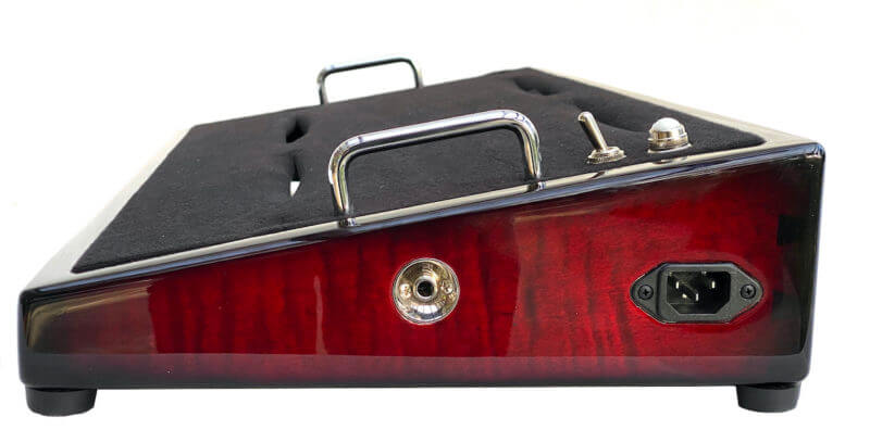 Wine Red Pedalboard - Icon Series 1