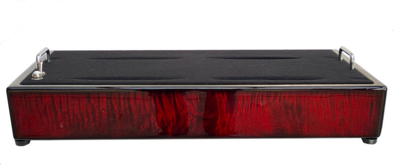 Wine Red Pedalboard - Icon Series 3