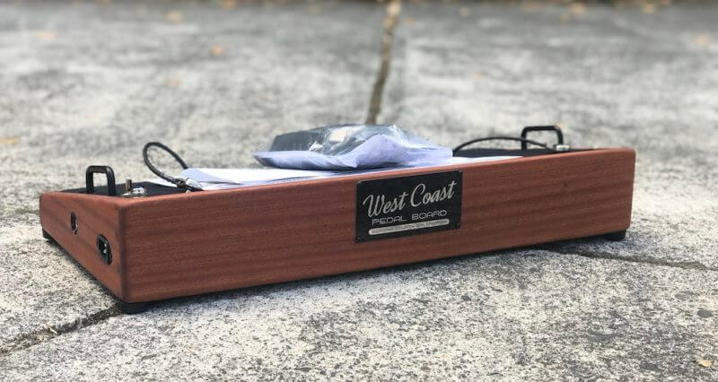 Hard Wood Pedalboard 14