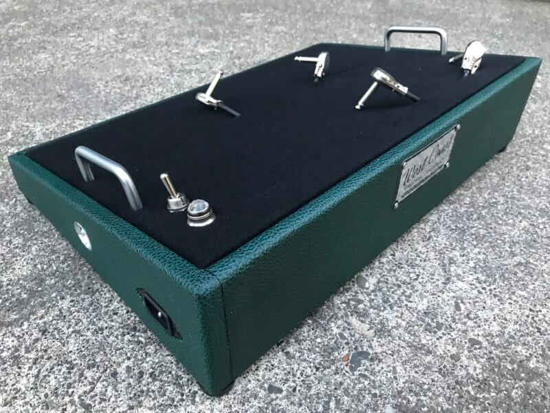 British Green Pedalboard