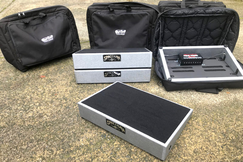 Spaceman effects Pedalboard Cases - Gigbags