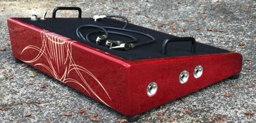 18X12 Translucent Red w/ Pin Striping - Ready to Ship 4