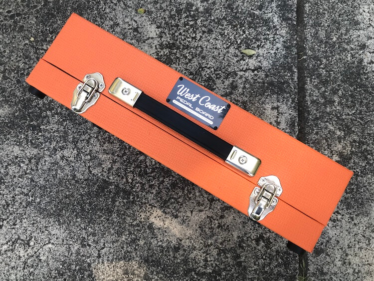 Orange Amp Flat Pedalboards