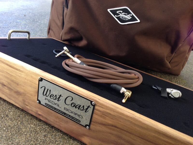 pedalboard cases from West Coast Pedal Boards