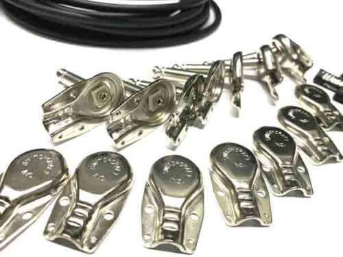 "Pedalboard Patch Cable Right Angle Plugs - Switchcraft ""Pancake"" 228 (TS) Mono 1"