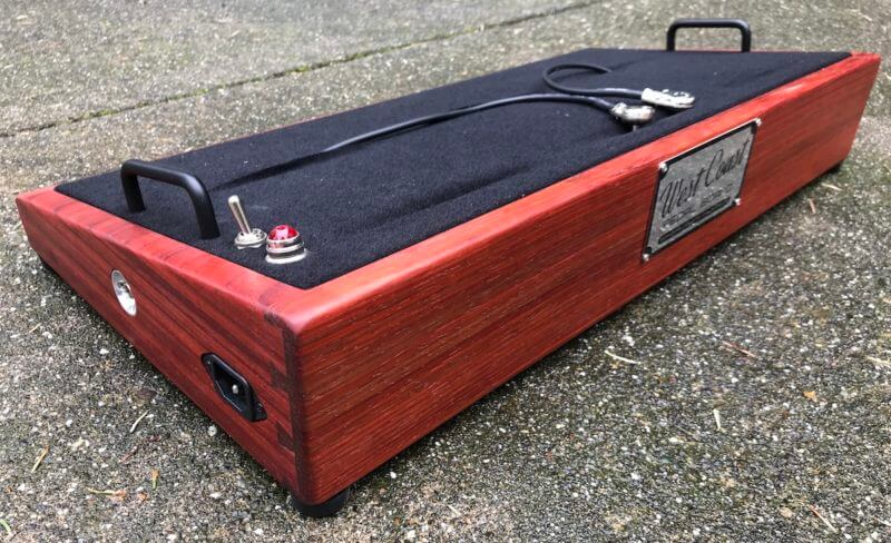 Do It Yourself Padauk Pedalboard Kit 3
