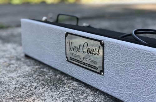 24X12 Marshall® Style Silver Jubilee™ Pedalboard - Ready to Ship 3