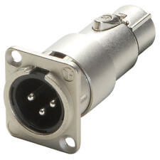 Neutrik XLR pass through