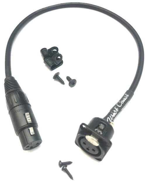 Pro XLR Harness For Vocal Effects & Direct Box 1