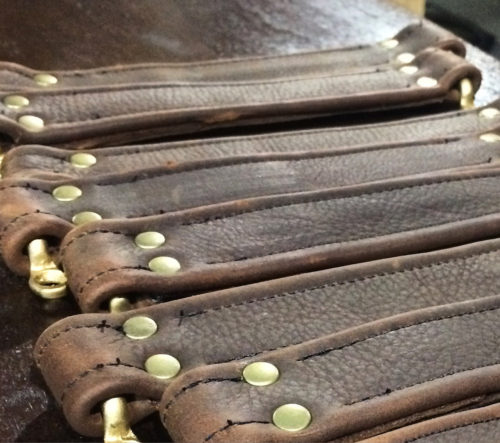 leather pedalboard case handles