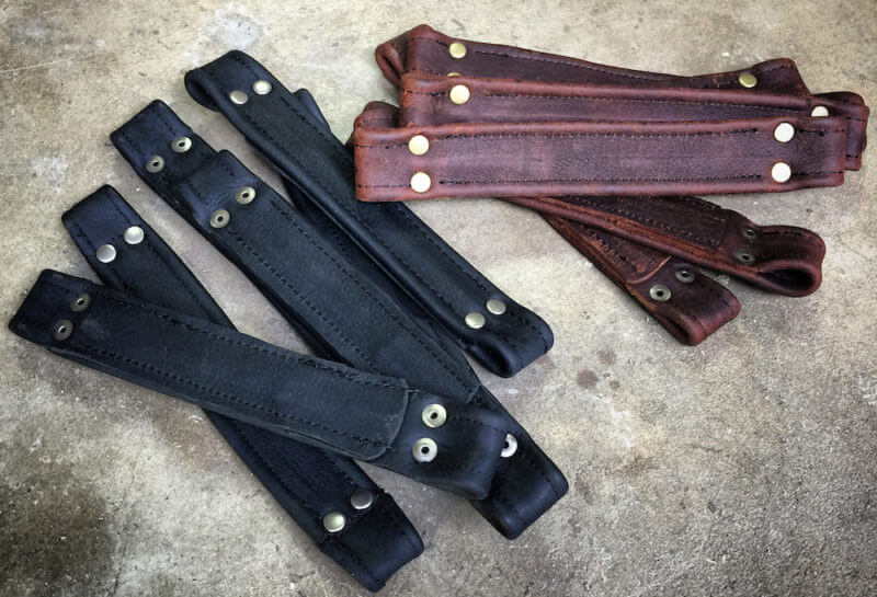 Genuine Leather Handles 1