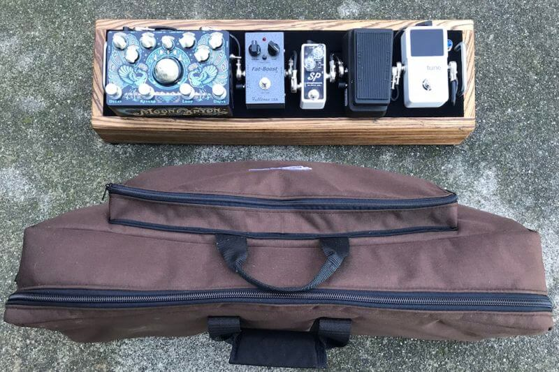 Little Rock Nerd - Mini Hardwood Pedalboard 7