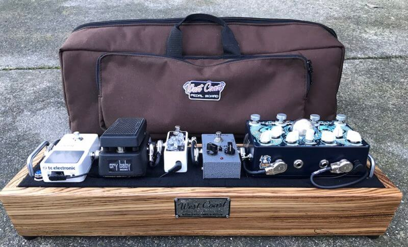 Little Rock Nerd - Mini Hardwood Pedalboard 5
