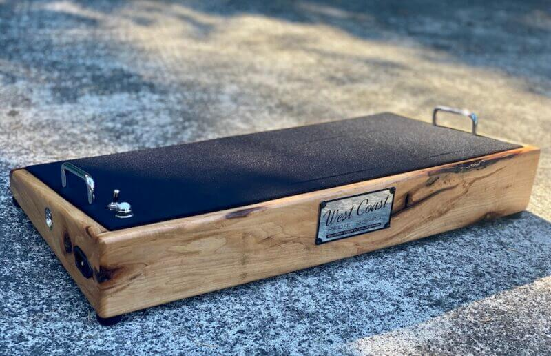 24X12 Naughty Hickory Pedalboard - Ready to Ship 1