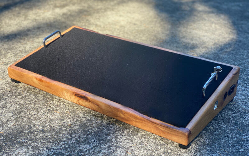24X12 Naughty Hickory Pedalboard - Ready to Ship 4