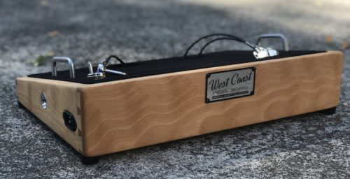 18X12 Figured Cherry Pedalboard - Ready to Ship 1