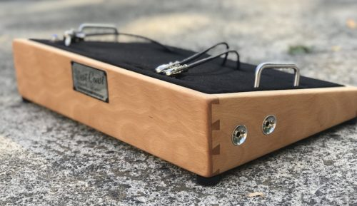 Custom Cherry Pedalboard