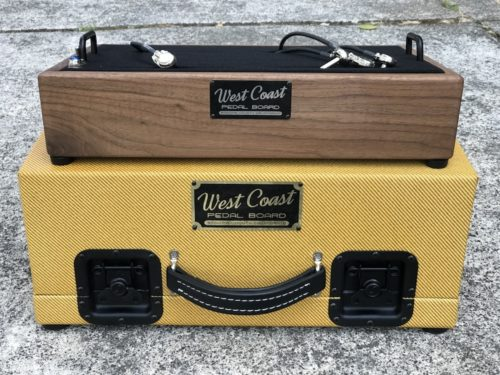 The Classic 18X12  Walnut + Aged Lacquered Tweed Case - Ready to Ship 2