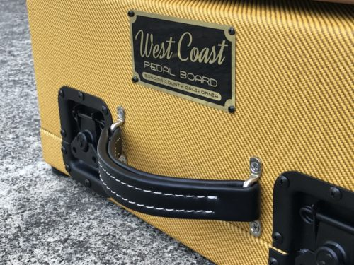 The Classic 18X12  Walnut + Aged Lacquered Tweed Case - Ready to Ship 7