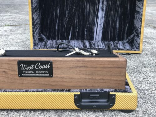 The Classic 18X12  Walnut + Aged Lacquered Tweed Case - Ready to Ship 6