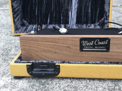 The Classic 18X12  Walnut + Aged Lacquered Tweed Case - Ready to Ship 5
