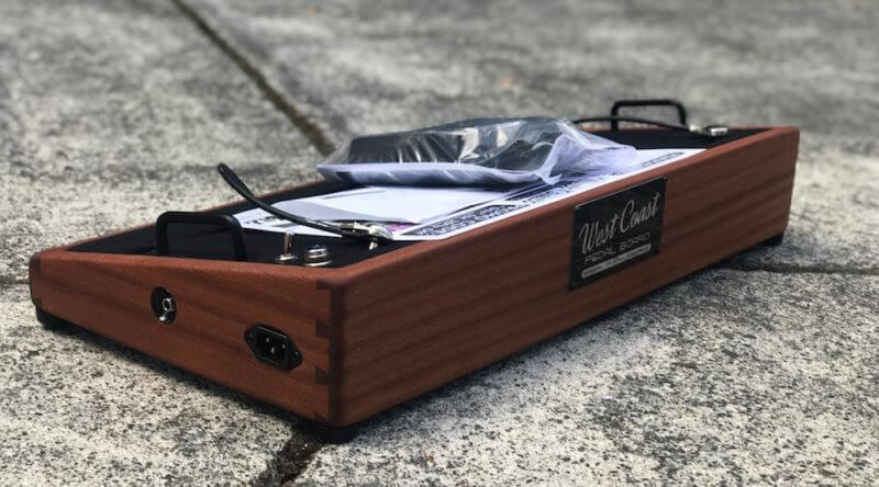 Hard Wood Pedalboard 15