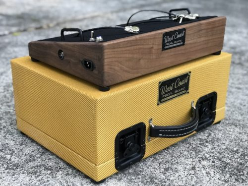The Classic 18X12  Walnut + Aged Lacquered Tweed Case - Ready to Ship 1