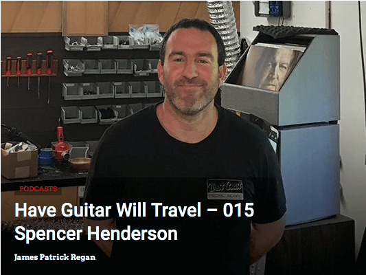Episode 15 of Have Guitar Will Travel Podcast - Jimmy and The Deadlies   Vintage Guitar Magazine!!