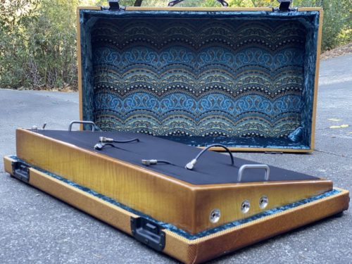 Ol' Number 1 Ice Tea Burst + Shugga' Burst Tweed Case - Ready to Ship 5