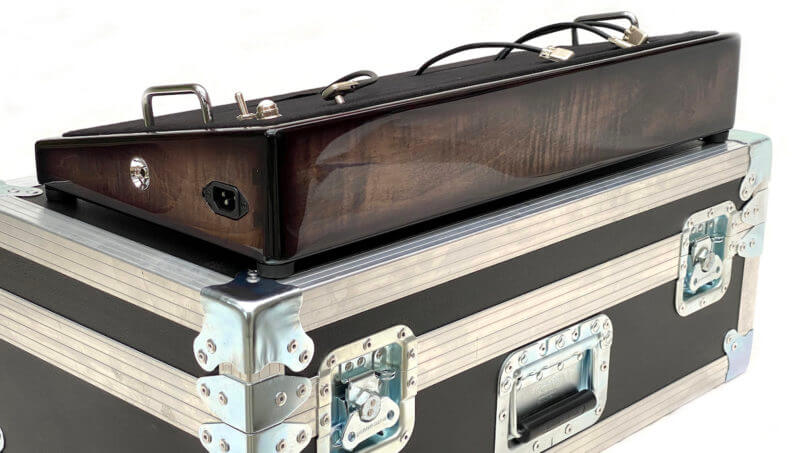 Blackened Pedalboard & Case Combo 24X12 - Ready to Ship 1