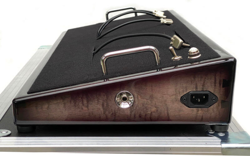 Blackened Pedalboard & Case Combo 24X12 - Ready to Ship 2