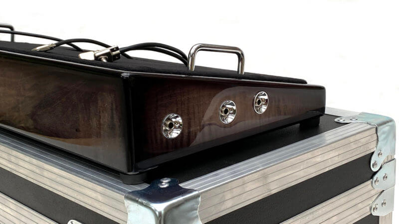 Blackened Pedalboard & Case Combo 24X12 - Ready to Ship 5