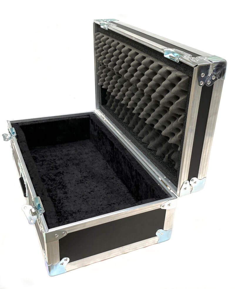Blackened Pedalboard & Case Combo 24X12 - Ready to Ship 6