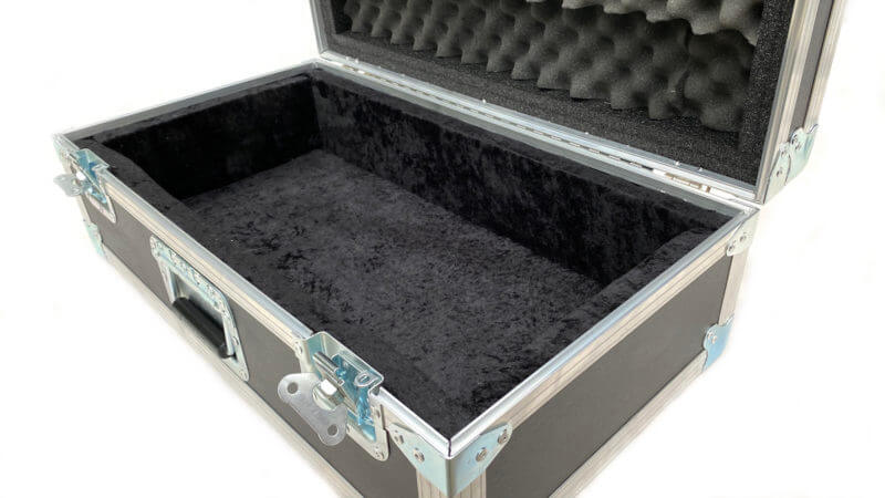 Blackened Pedalboard & Case Combo 24X12 - Ready to Ship 7