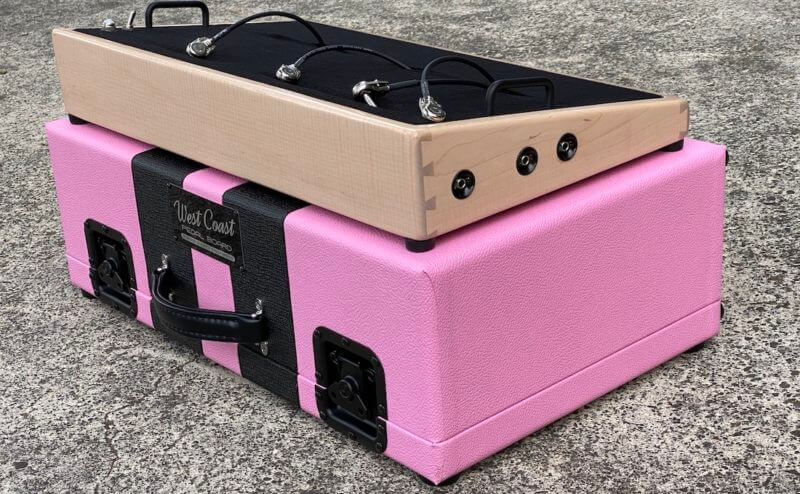 Shell Pink Board + Pink 'n' Black Custom Hard Case - Ready to Ship 1