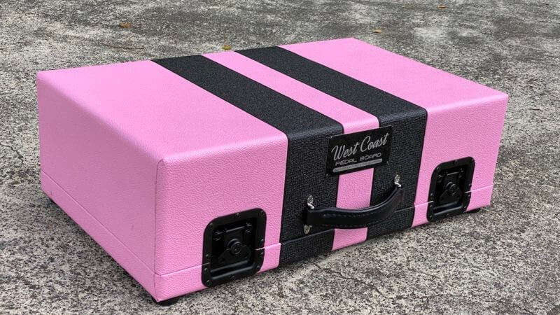 Shell Pink Board + Pink 'n' Black Custom Hard Case - Ready to Ship 6