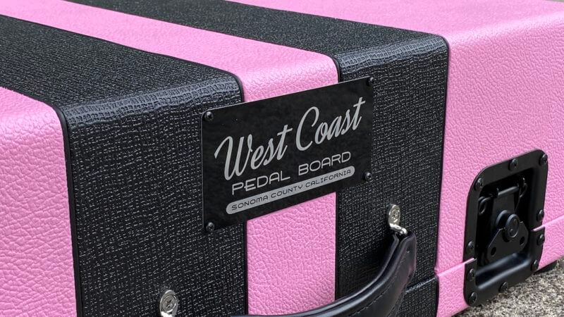 Shell Pink Board + Pink 'n' Black Custom Hard Case - Ready to Ship 7