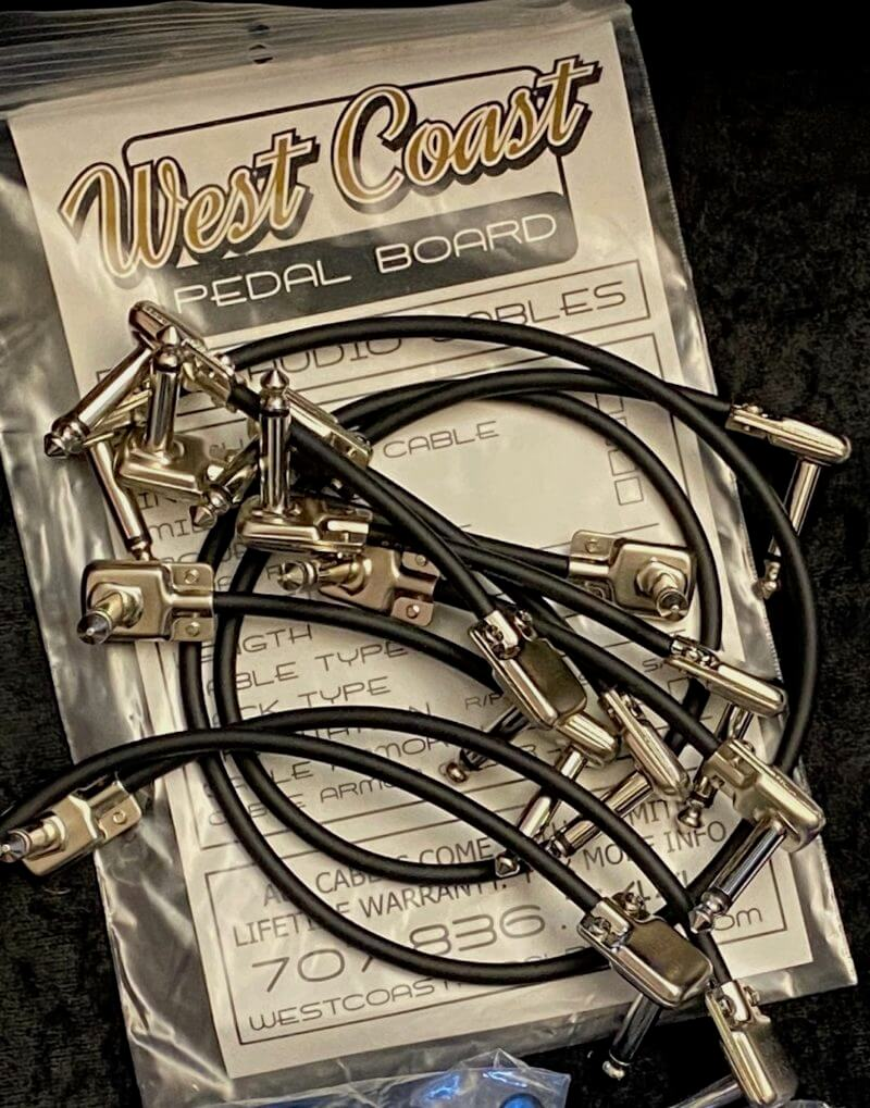 pedal board patch cable pack