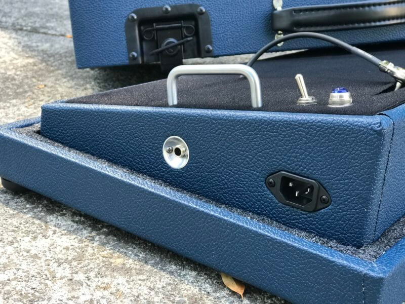 Navy Blue Tolex Board & Hard Case Combo Set 8
