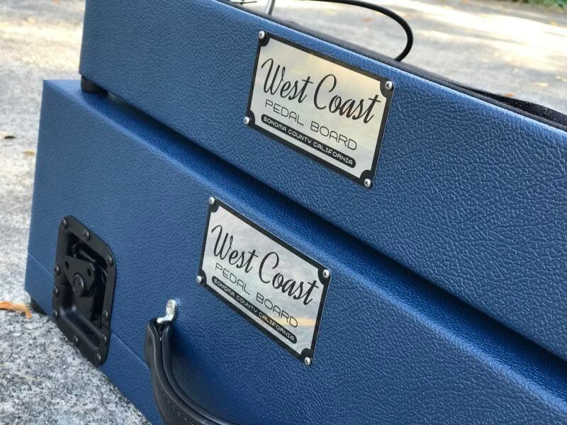 Navy Blue Tolex Board & Hard Case Combo Set 7
