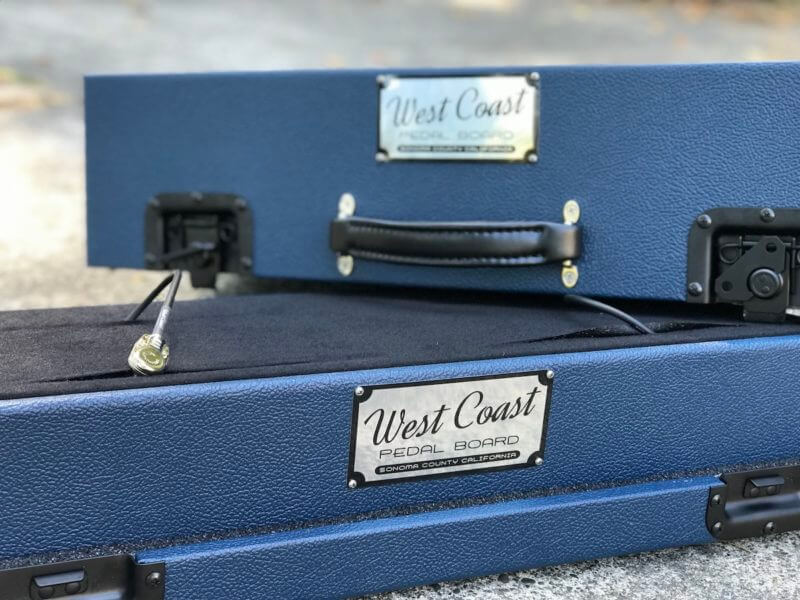 Navy Blue Tolex Board & Hard Case Combo Set 5