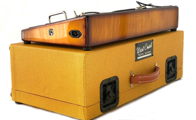 Whisky Burst & Amber Lacquer Tweed Case Combo - 24X12 - Ready to Ship 1