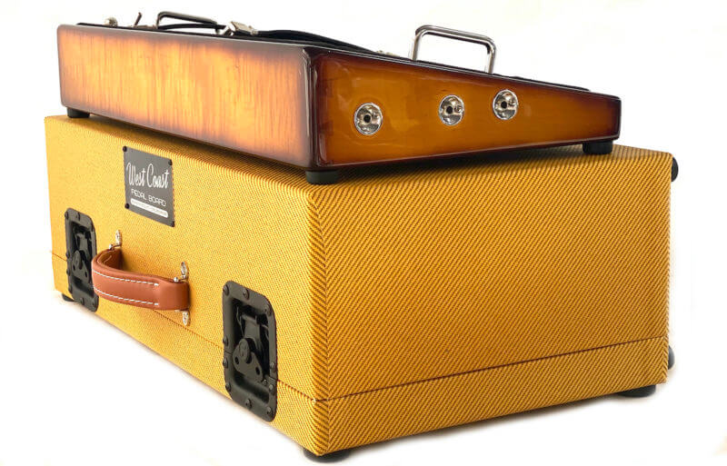 Whisky Burst & Tweed Hard Case