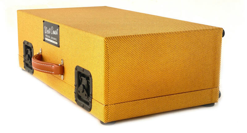 Whisky Burst & Amber Lacquer Tweed Case Combo - 24X12 - Ready to Ship 2
