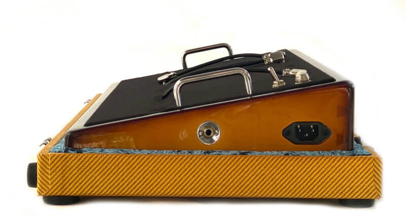 Whisky Burst & Amber Lacquer Tweed Case Combo - 24X12 - Ready to Ship 6