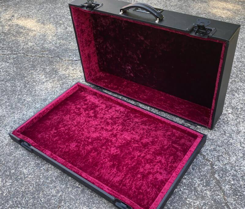 Temple Audio Pedalboard Hard Case - Trio 28 - Ready to Ship ***B-Stock*** 1