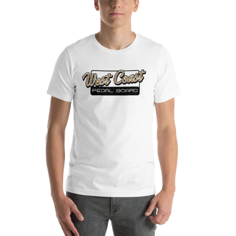 Short-Sleeve Unisex Color T-Shirt - Black Logo 1