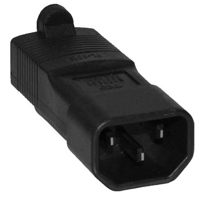 C14 to 5-15R Power Cable Converter - 110 to 250 Volt World Compatible 2